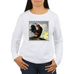 The Cock Crows Women's Long Sleeve T-Shirt