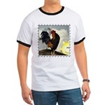 The Cock Crows Ringer T