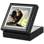 The Cock Crows Keepsake Box