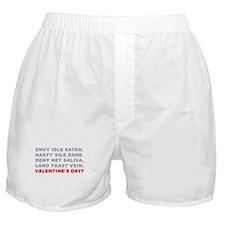 vday anagram Boxer Shorts