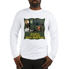 Every Knee Shall Bow Long Sleeve T-Shirt