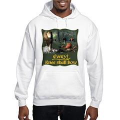 Every Knee Shall Bow Hooded Sweatshirt