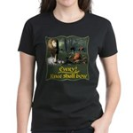 Every Knee Shall Bow Women's Dark T-Shirt