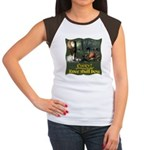 Every Knee Shall Bow Women's Cap Sleeve T-Shirt