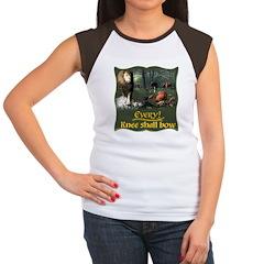 Every Knee Shall Bow Women's Cap Sleeve T-Shirt