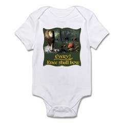 Every Knee Shall Bow Infant Bodysuit