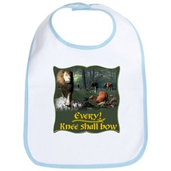 Every Knee Shall Bow Bib