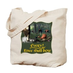 Every Knee Shall Bow Tote Bag