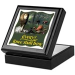 Every Knee Shall Bow Keepsake Box