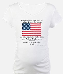 Pledge of Allegiance U.S. Flag Shirt