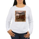 Flight of the Gyr Falcon Women's Long Sleeve T-Shi