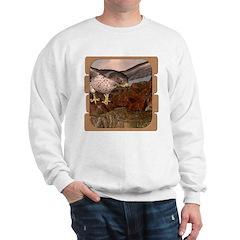 Flight of the Gyr Falcon Sweatshirt