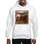 Flight of the Gyr Falcon Hooded Sweatshirt