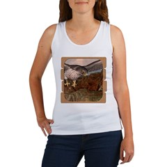 Flight of the Gyr Falcon Women's Tank Top