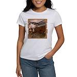 Flight of the Gyr Falcon Women's T-Shirt