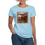 Flight of the Gyr Falcon Women's Light T-Shirt
