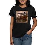 Flight of the Gyr Falcon Women's Dark T-Shirt