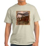 Flight of the Gyr Falcon Light T-Shirt