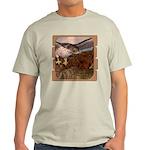 Flight of the Gyr Falcon Light T-Shirt