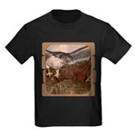 Flight of the Gyr Falcon Kids Dark T-Shirt