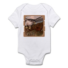 Flight of the Gyr Falcon Infant Bodysuit