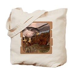Flight of the Gyr Falcon Tote Bag
