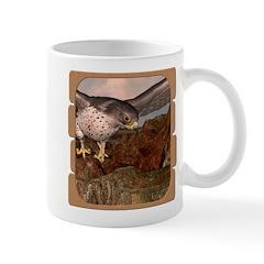 Flight of the Gyr Falcon Mug
