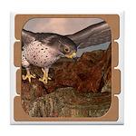 Flight of the Gyr Falcon Tile Coaster