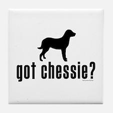 got chessie? Tile Coaster