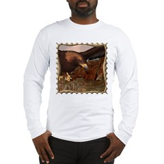 Flight of the Eagle Close Up Long Sleeve T-Shirt