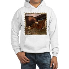 Flight of the Eagle Close Up Hooded Sweatshirt