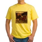 Flight of the Eagle Close Up Yellow T-Shirt
