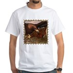 Flight of the Eagle Close Up White T-Shirt
