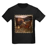 Flight of the Eagle Close Up Kids Dark T-Shirt