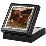 Flight of the Eagle Close Up Keepsake Box