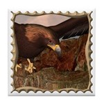 Flight of the Eagle Close Up Tile Coaster