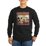 Goldilocks & The 3 Bears Long Sleeve Dark T-Shirt