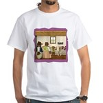 Goldilocks & The 3 Bears White T-Shirt