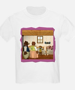 Goldilocks & The 3 Bears T-Shirt