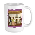 Goldilocks & The 3 Bears Large Mug