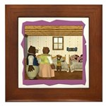 Goldilocks & The 3 Bears Framed Tile