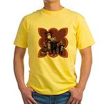 Hickory, Dickory, Dock Yellow T-Shirt