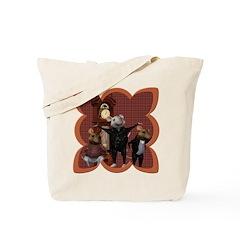 Hickory, Dickory, Dock Tote Bag