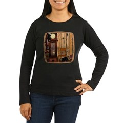 HDD Up the Clock! Women's Long Sleeve Dark T-Shirt