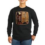 HDD Up the Clock! Long Sleeve Dark T-Shirt