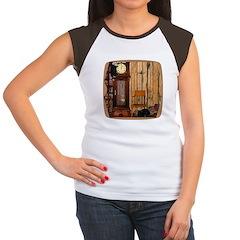 HDD Up the Clock! Women's Cap Sleeve T-Shirt