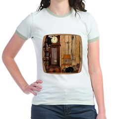 HDD Up the Clock! Jr. Ringer T-Shirt