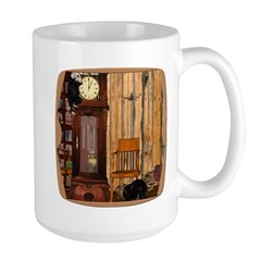 HDD Up the Clock! Large Mug