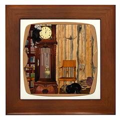 HDD Up the Clock! Framed Tile