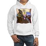 HDD Safe At Last! Hooded Sweatshirt